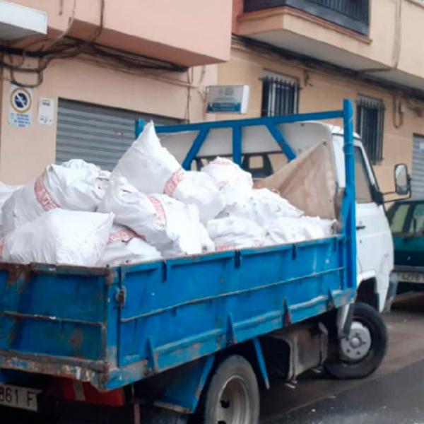 Retirada de escombros en Valencia